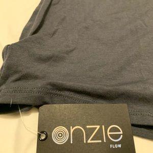 Onzie Tops - NWT Onzie grey tank top - Yoga or Brunch!